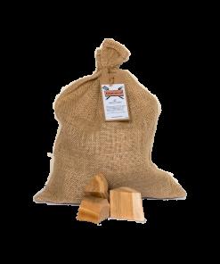 Productafbeelding | Cherry Chunks | Rookplankje.nl | BBQ Rookhout | Kersenhout