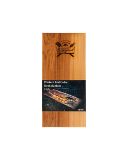 Rookplank Ceder x2 verpakt