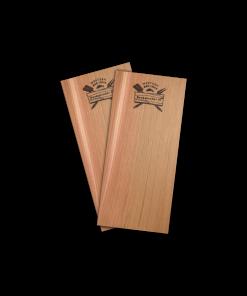 Productafbeelding | Rookplank_Western Red Cedar 2 stuks | Rookplankje.nl