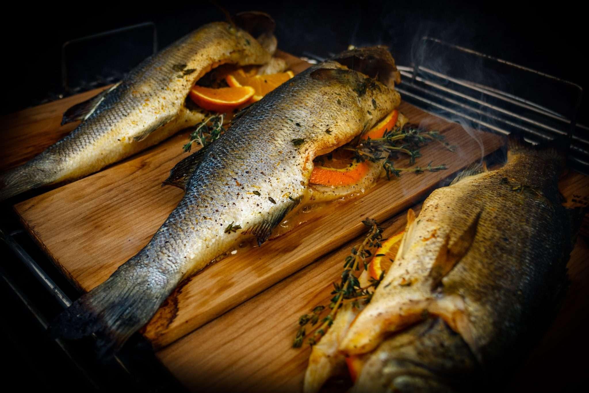 Recept | Op ceder gerookte zeebaars_D