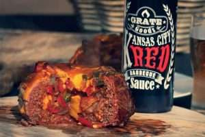 Recept | Beer can burger XXL | Rookplankje.nl
