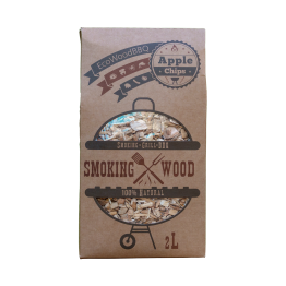 Apple Wood Chips EcoWoodBBQ | Rookplankje.nl