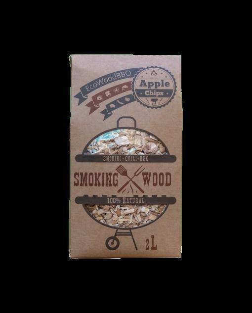 Apple Wood Chips EcoWoodBBQ   Rookplankje.nl
