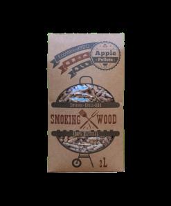 Apple Wood Pellets EcoWoodBBQ | Rookplankje.nl
