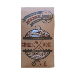 Apple Wood Pellets EcoWoodBBQ | Rookplankje.nl