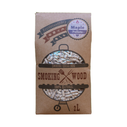 Maple Wood Pellets EcoWoodBBQ