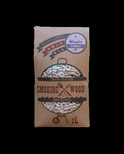 Maple Wood Pellets EcoWoodBBQ   Rookplankje.nl