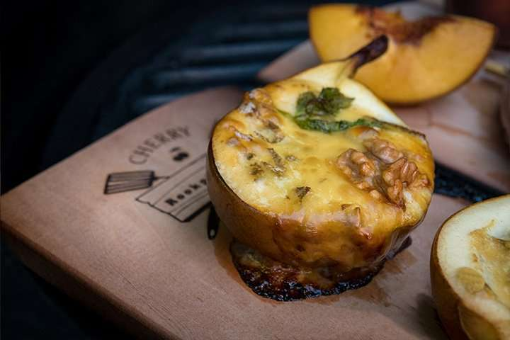 Recept | Peer met Gorgonzola | Rookplankje.nl