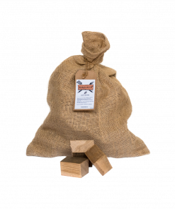 Productafbeelding | Oak Chunks | Rookplankje.nl | BBQ Rookhout | Eikenhout