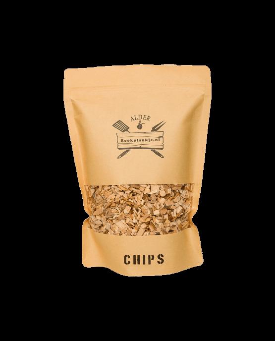 Productafbeelding   Alder Chips   BBQ Rook Chips van elzenhout