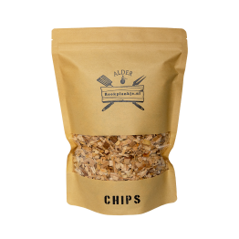 Alder Chips | BBQ Rook Chips Elzenhout | Rookplankje.nl
