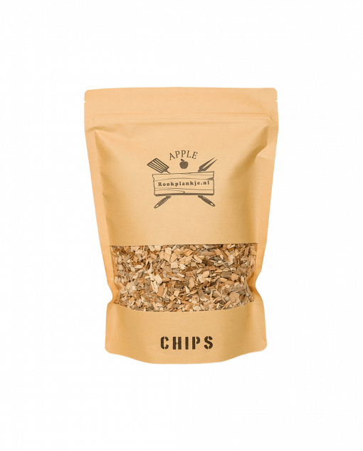 Productafbeelding | Apple Chips | BBQ Rook Chips van appelhout