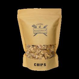 Cherry Chips | BBQ Rook Chips Kersen | Rookplankje.nl