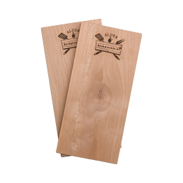 Productafbeelding | Rookplank Alder x2 | Rookplankje.nl | BBQ Rookhout