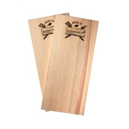 Productafbeelding | Rookplank Beech x2 | Rookplankje.nl | BBQ Rookhout