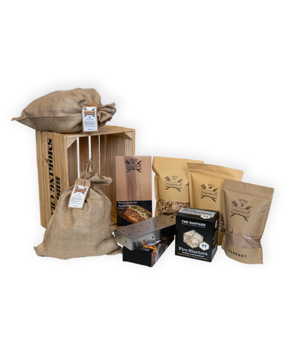 Productafbeelding | BBQ Smoking Crate A | Kado-assortiment | Rookplankje.nl