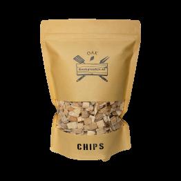 Oak Chips | BBQ Rook Chips Eiken | Rookplankje.nl
