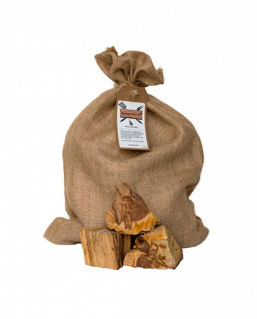 Productafbeelding   Pear Chunks   Rookplankje.nl   BBQ Rookhout   Perenhout