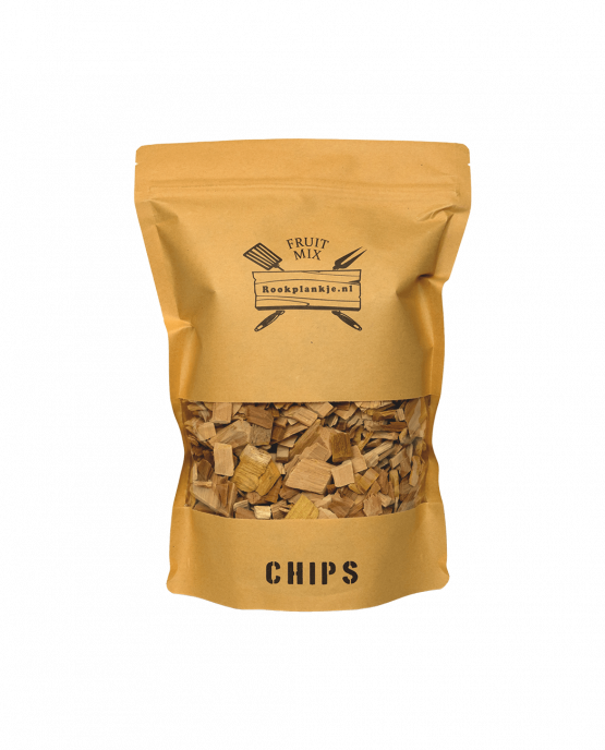 Productafbeelding | Fruit Mix Chips | BBQ Rook Chips