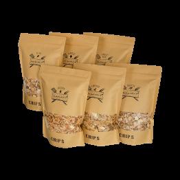 Chips Assortiment XXL | 6 zakken Rookchips