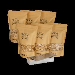 Chips Assortiment XXL met Smoker Box | Rookplankje.nl