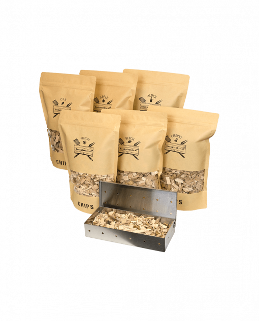 Chips Assortiment XXL met Smoker Box   Rookplankje.nl