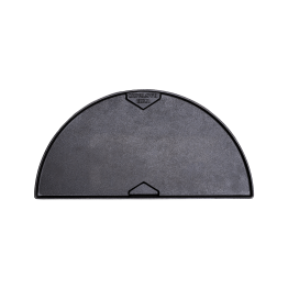 Productafbeelding The Bastard | Cast Iron Half Moon Griddle | Gladde zijde