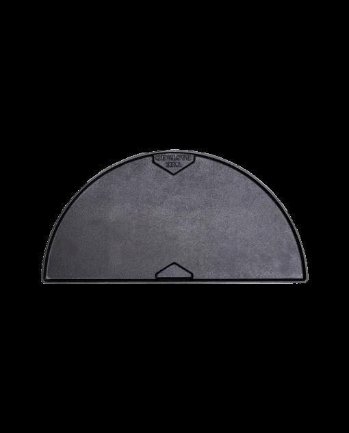 Productafbeelding The Bastard | Cast Iron Half Moon Griddle | Gladde zijde