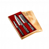 Productafbeelding | Brute Forged 3-delige messenset in houten kistje