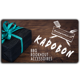 Productafbeelding | Kadobon | Rookplankje.nl