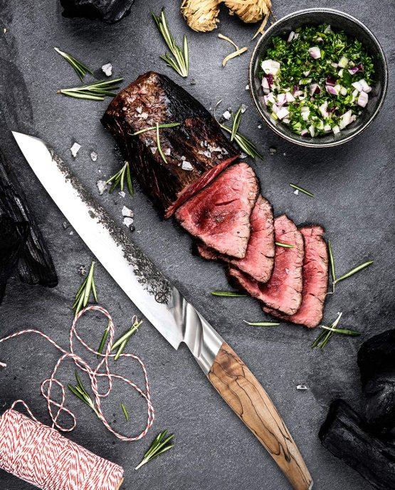 Sfeerbeeld | Katai Forged Vlees Mes