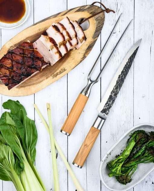 Sfeerbeeld   Olive Forged Vlees Mes