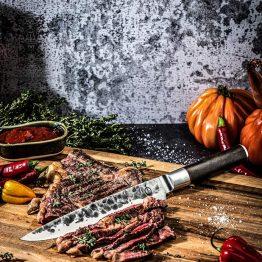 Sebra Forged Vlees Mes | Sfeerbeeld