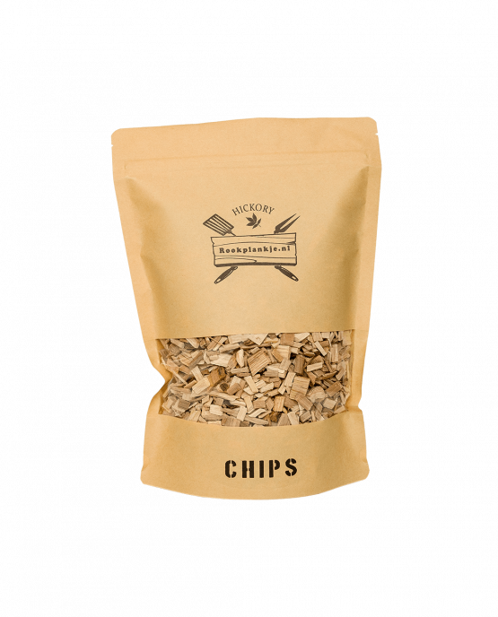 Productafbeelding   Hickory Chips   BBQ Rook Chips van hickory
