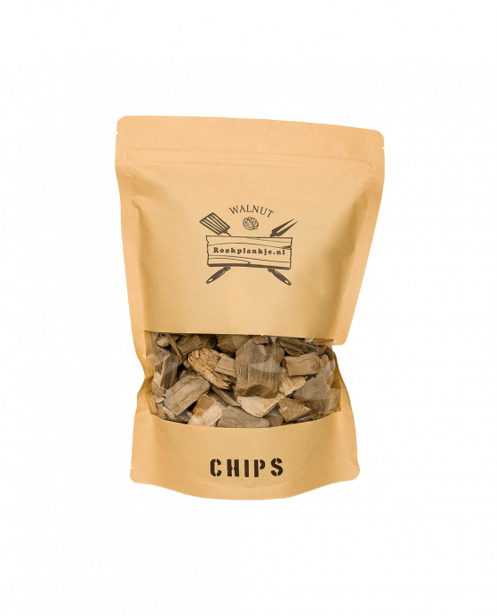Productafbeelding | Walnut Chips | BBQ Rook Chips van walnoothout