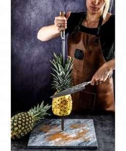 Sfeerafbeelding Churrasco Forged Spies V-vorm | snijden ananas