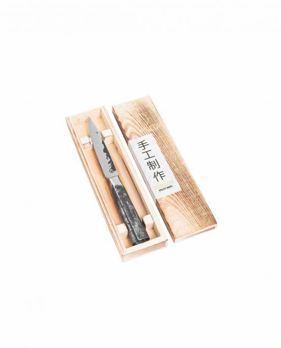 Productafbeelding   Intense Forged Universeel mes in houten kistje