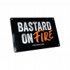 Productafbeelding | The Bastard | Man cave plate 'Bastard on Fire' bordje