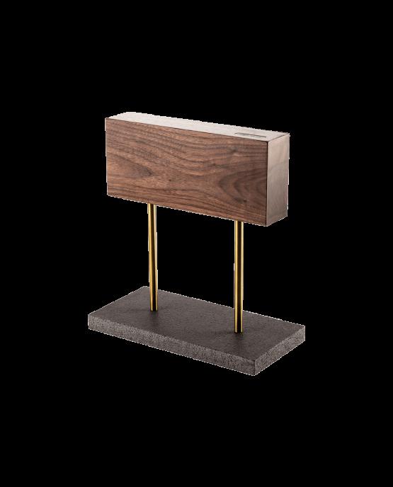 Productafbeelding | Style de Vie magnetisch messenblok walnoot