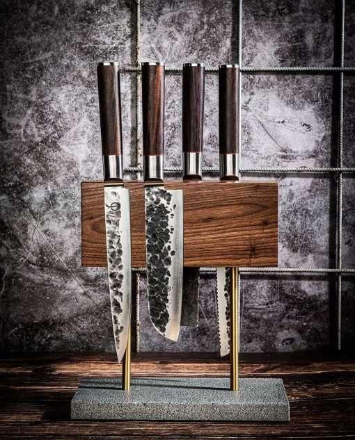 Sfeerbeeld | Style de Vie magnetisch messenblok walnoot