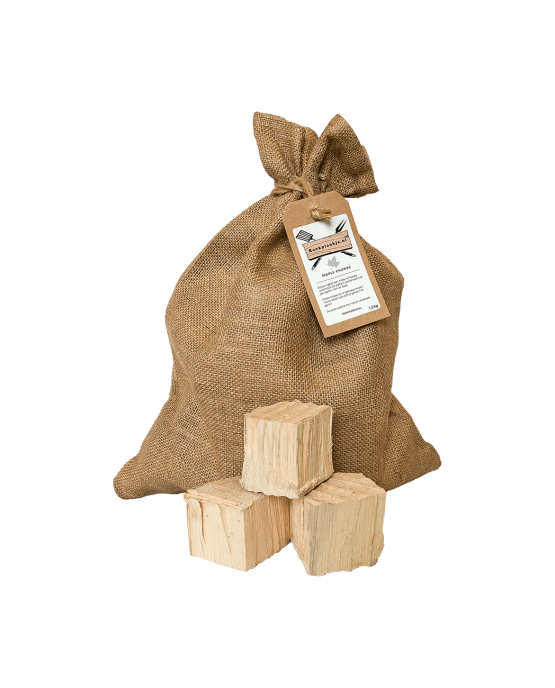 Productafbeelding   Maple Chunks   Rookhout   Esdoorn   Rookplankje.nl