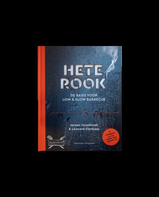 Productafbeelding   Hete Rook   Jeroen Hazebroek, Leonard Elenbaas   BBQ-boek
